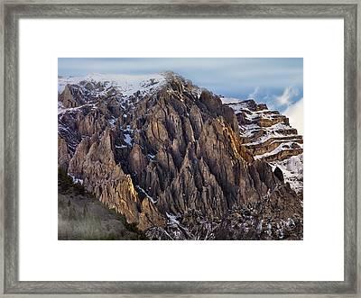 Cedar Creek Canyon Framed Print