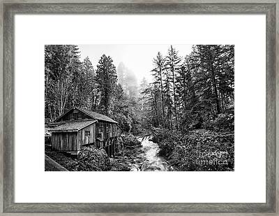 Cedar Creek Classic Framed Print