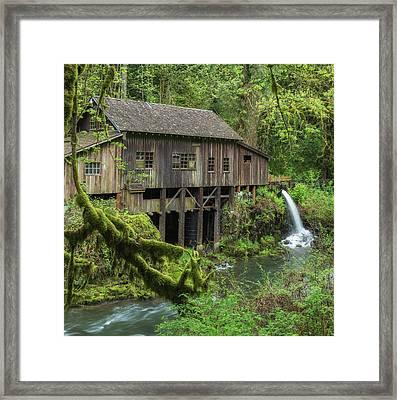 Cedar Creek Grist Mill Framed Print