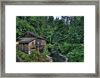 Cedar Creek Grist Mill Framed Print