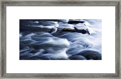 Cedar Creek Rapids Framed Print