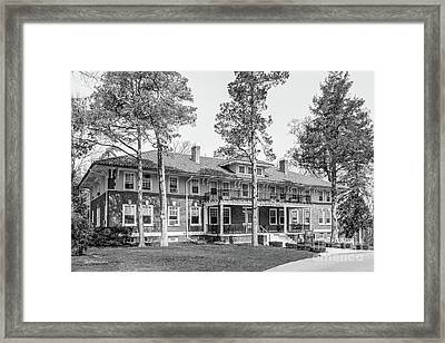 Cedar Crest College Hartzel Hall Framed Print by University Icons