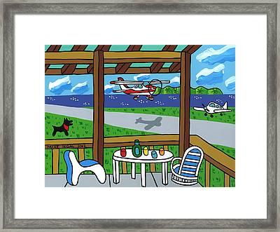 Cedar Key Airport Framed Print