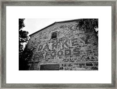 Cedar Key Sea Foods Framed Print by David Lee Thompson