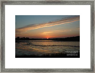 Cedar Key Sunset 1 Framed Print
