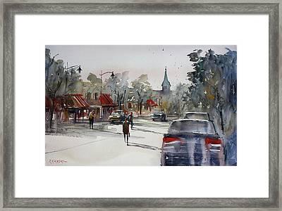 Cedarburg - Impressions Of Summer Framed Print