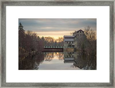 Cedarburg Mill Framed Print