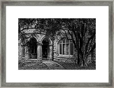 Framed Print featuring the photograph Cedarhyrst by Jessica Brawley