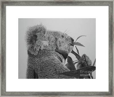 Framed Print featuring the painting Ceduna by Jennifer Watson