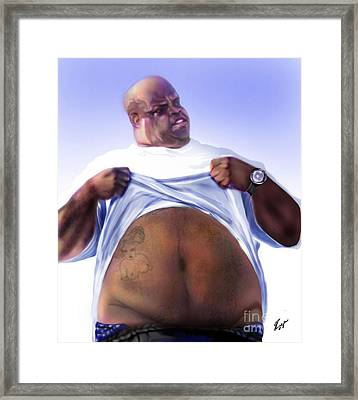 Cee Lo Green-the Day I Lost My Mind Framed Print