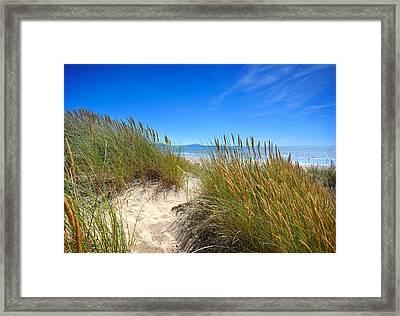 Cefn Sidan Beach 2 Framed Print