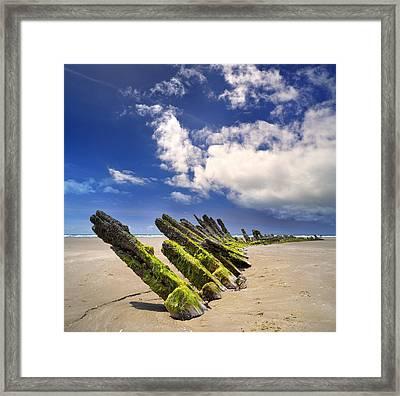 Cefn Sidan Beach 3 Framed Print