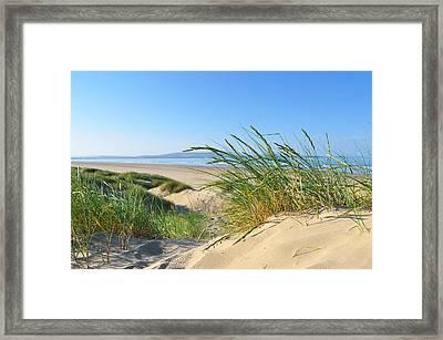 Cefn Sidan Beach 4 Framed Print