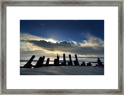 Cefn Sidan Beach 5 Framed Print