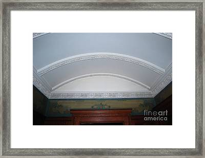 Framed Print featuring the photograph Ceiling by Bill Thomson