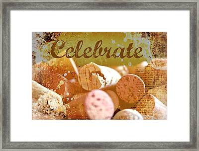 Celebrate Framed Print by Cathie Tyler