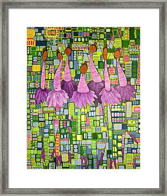 Framed Print featuring the painting Celebrate by Donna Howard