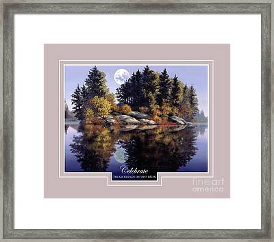Celebrate Framed Print by Michael Swanson