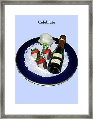 Celebrate  Framed Print by Sally Weigand