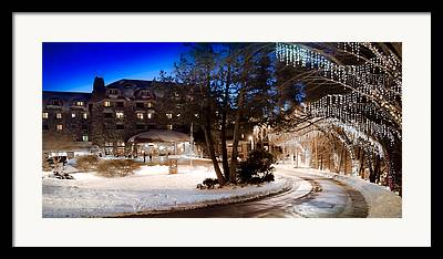 Grove Park Inn Photographs Framed Prints