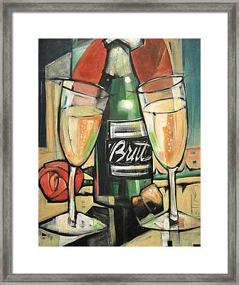 Celebrate With Bubbly Framed Print by Tim Nyberg