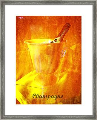 Celebrate With Champagne Framed Print by Richard Reeve