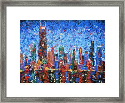 Celebration City Framed Print