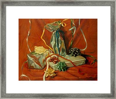 Celebration Framed Print by Constance Drescher