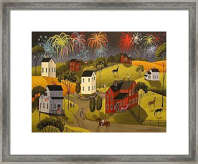 Celebration Framed Print by Debbie Criswell
