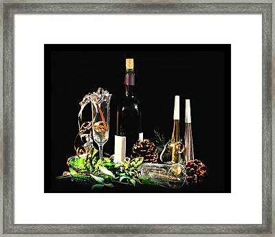 Celebration Framed Print by Diana Angstadt