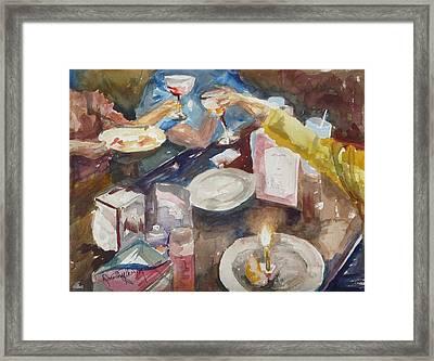 Celebration Framed Print by Dorothy Herron