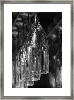 Framed Print featuring the photograph Celebration Glasses by Ron Dubin