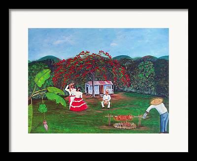 Jibaros Framed Prints