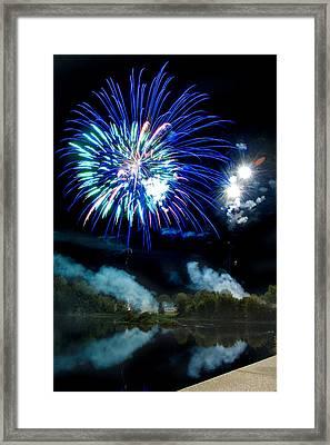 Celebration II Framed Print by Greg Fortier