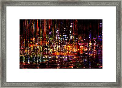 Celebration In The City Framed Print