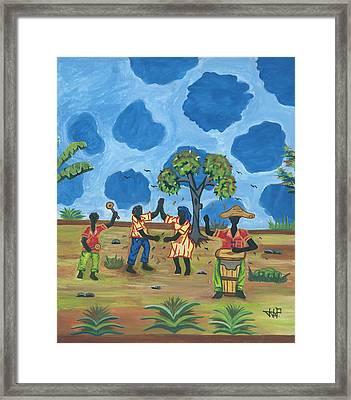 Celebration Framed Print by John Paul Joseph