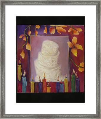 Celebration Framed Print by Martha Zausmer paul