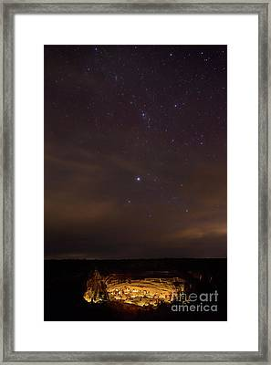 Celebration Of The Ancients Framed Print by Dusty Demerson