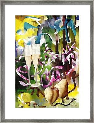 Celebration Framed Print by Sarah Loft