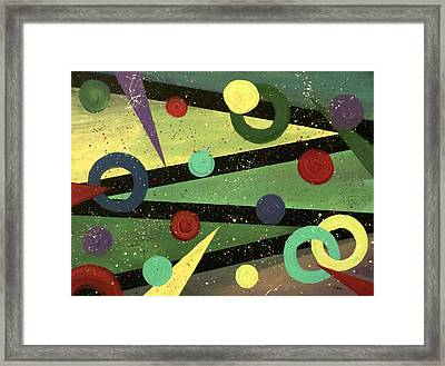 Celebration Framed Print by Teresa Wing
