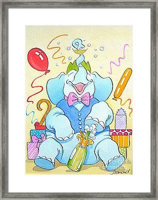 Celebrations Framed Print by Debbie  Diamond