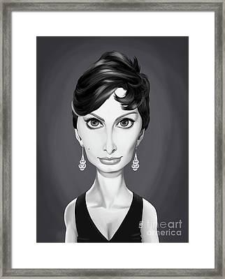 Celebrity Sunday - Sofia Lauren Framed Print