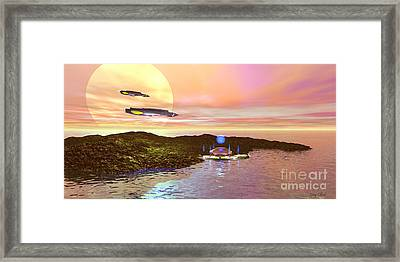 Celeron 3 Framed Print by Corey Ford