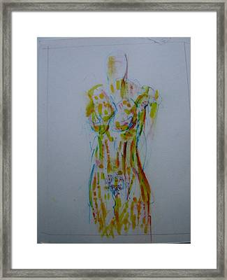 Celery Framed Print by Dean Corbin