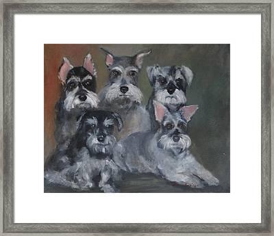 Celeste's Babies Framed Print by Carol Berning