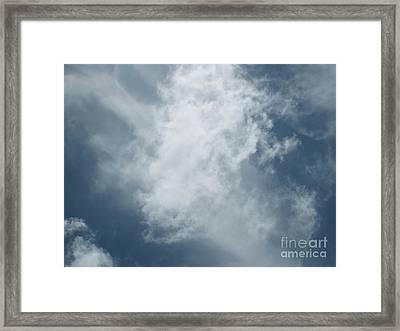 Celestial 1 Framed Print by Karen Sydney