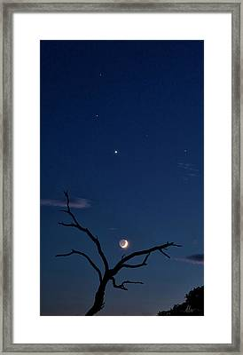Celestial Alignment Framed Print