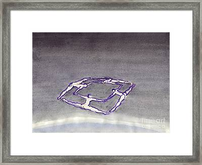 Celestial Androne Framed Print by Line Arion