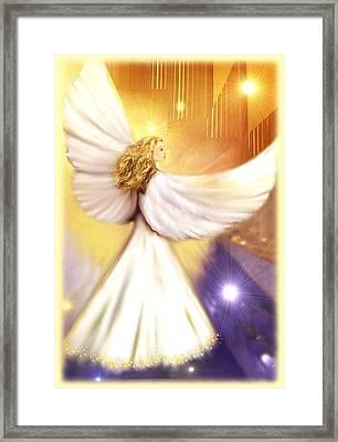 Celestial Angel Framed Print