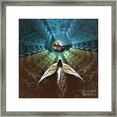 Celestial Cavern Framed Print